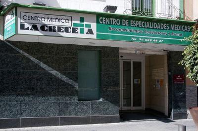 Localización de la Clínica la Creueta de Villajoyosa