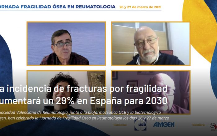 La incidencia de fracturas por fragilidad aumentará un 29% en España para 2030